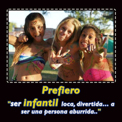 mujeres infantiles