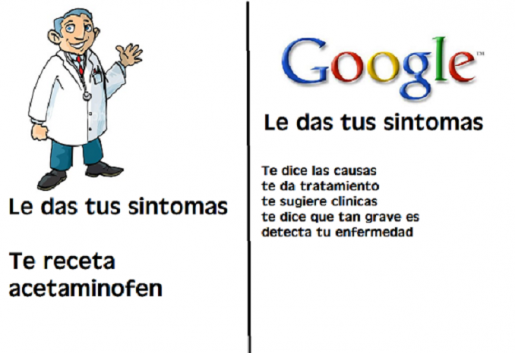 google vs un doctor
