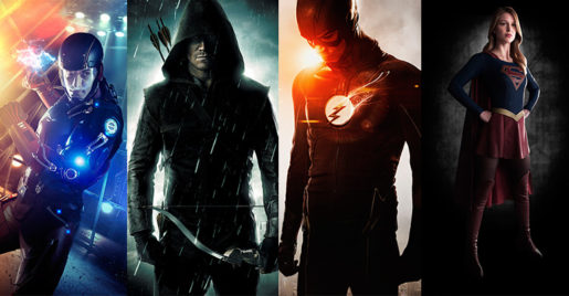 Imagenes de Supergirl, The Flash, Arrow y LOT