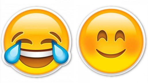 Emoticon llorando de risa para facebook